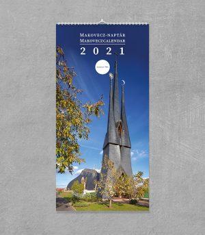 Makovecz-Naptár 2021 (hosszúkás)