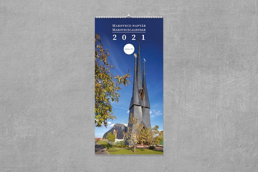 Makovecz Calendar 2021 (long format)