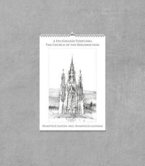 Makovecz-Naptár 2022 - A Feltámadás Temploma